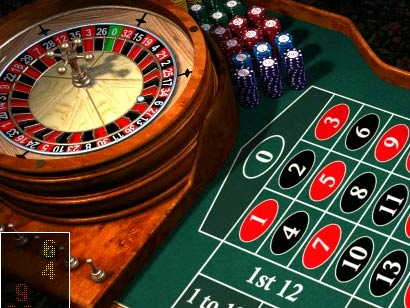 Un tavolo di roulette europea con in evidenza lo casella dello zero sul tavolo verde